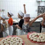 Klassen 3 beim Bäcker